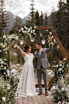 Wild Rose Wedding Workshops - Thsi beautiful spring mountain wedding has been featured on our blog and includes many of our Alberta Wedding Social members. It is absolutely beautiful; a must see! Spring Wedding Decorations, Spring Wedding Inspiration, Rose Wedding, Wedding Trends, Real Weddings, Workshop, Mountain, Blog, Beautiful