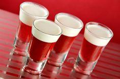 drinks com vodka: gelatina alcoolica