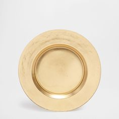 Image 1 of the product Golden glass plate charger