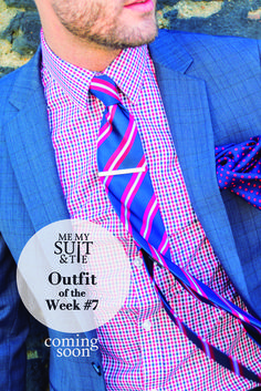Checks and stripes. Mixing it up with this week's Outfit of the Week #7, coming this Thursday. ‪#‎ootw‬ ‪#‎wiwt‬ ‪#‎mmst‬ ‪#‎gentlemen‬ ‪#‎suits‬ ‪#‎suitandtie‬ ‪#‎menswear‬ ‪#‎style‬ ‪#‎mensfashion‬ ‪#‎sartorial‬ ‪#‎fashionblogger‬ ‪#‎styleinfluencer‬ ‪#‎mensstyle‬