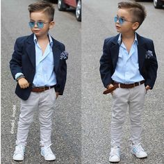 """""""style by baby boy fashion, little boy fashion, toddler fashion Boys Dress Outfits, Outfits Niños, Little Boy Outfits, Cute Teen Outfits, Baby Boy Outfits, Toddler Boy Wedding Outfit, Toddler Boy Fashion, Little Boy Fashion, Fashion Kids"""