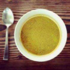 Whenever either my husband or I seem to be coming down with something, I cook up a quick batch of this for the sick days to come. It is deeply nourishing and healing due to its bone-broth base, and has infection and inflammation-fighting ingredients like garlic and ginger. The trick to the soup is to. . . .