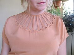 really cool neckline