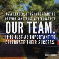 This is one of the most underutilized attributes in corporations today. Celebrate success even if you are not in a leadership role celebrate a team member's success. The impact is incredible.  Double Tap If You Agree!