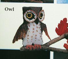 Owl Birds Plastic Canvas Patterns