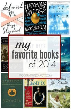 My favorite books of 2014 from Modern Mrs Darcy. These are the 9 best books I read in 2014, regardless of publication year. Get your to-read list ready!