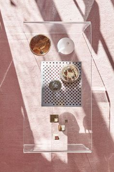 table + pink