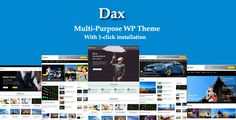 HURRY ! $29 special offer TODAY .            Latest Version 1.7 – April 17, 2017     WordPress 4.73 Ready  Theme Support: Support@daxthemes.com                                                     ...