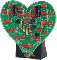 Geek Valentines Day Stuff - Flashing LED Sweetheart Kit