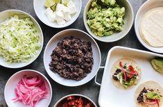 Black Bean Tacos – Flourist