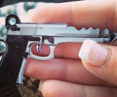 .45 Caliber Gun Key