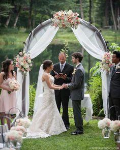 20 beautiful wedding arch decoration ideas pinterest white bridal veil lakes blogs 2014 christina douglas bridal veil lakes junglespirit Images