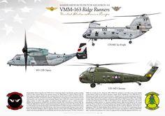 UNITED STATES MARINE CORPS Marine Medium Helicopter Squadron 163 (HMM-163)…
