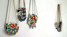 Hand Embroidered Necklaces