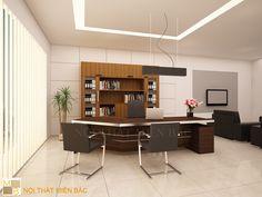 Thiết kế nội thất phòng giám đốc  PGD03