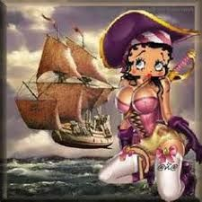 Image result for betty boop as pirate