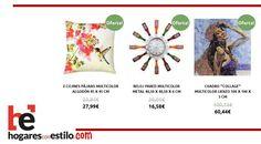 #ofertas en hogaresconestilo.com con originalidad... #home #hogar #estilo #deco #decoración