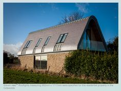 Broadmere: a new house in the countryside contemporary-exterior Contemporary House Plans, Contemporary Interior Design, Hello Design, Roof Light, Home Projects, Interior And Exterior, Decor Styles, Countryside