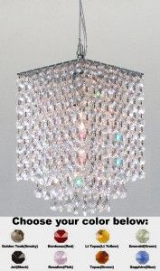 Modern chandeliers that come in a wide variety of styles are currently available.