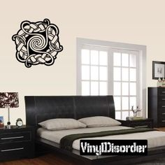 Celtic Ornament Wall Decal - Vinyl Decal - Car Decal - SM023