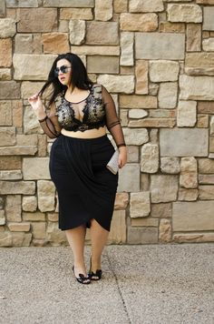 crystal coons sometimes glam mesh croptop ootd fashion blogger phoenix az plus size fashioncrystal coons sometimes glam mesh…