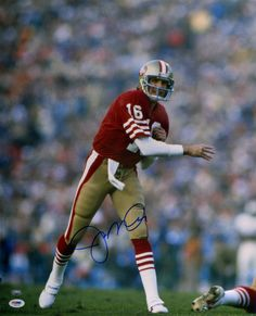 49er's Joe Montana...a legend