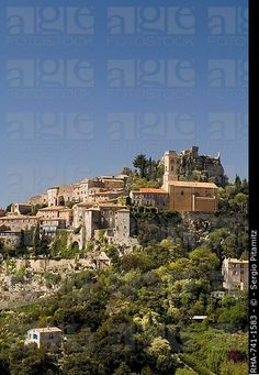 Eze village, Alpes Maritimes, Provence, Cote d´Azur, French Riviera, France, Europe