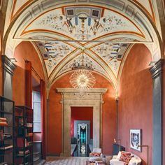 The flagship store, in Florence. Courtesy of Aquazzura-Wmag