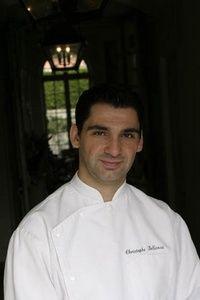 Chef Christophe Bellanca