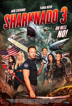 New release this week: Sharknado 3