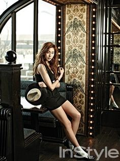After School's Uee for InStyle Korea (애프터스쿨 유이)