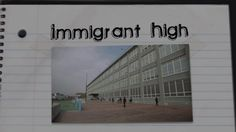"""trailer for """"Immigrant High"""" - documentary about Latino students who are also immigrants and attend a high school created for them."""