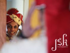 Getting ready. Indian wedding photography