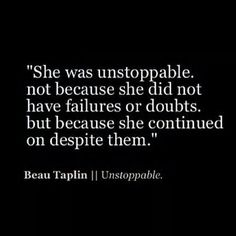 Unstoppable is right!!