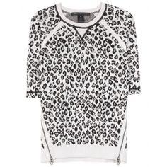 mytheresa.com - Sasha leopard-intarsia sweater - Luxury Fashion for Women / Designer clothing, shoes, bags