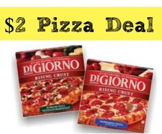 DiGiorno Coupon   $2 Pizzas at Rite Aid Starting 1/26! :: Southern Savers