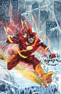 John Pierce uploaded this image to 'DC Comics Universe/DC Universe Flash'. See the album on Photobucket. The Flash 2, Kid Flash, Flash Comics, Arte Dc Comics, Dc Speedsters, Flash Barry Allen, Ride The Lightning, Comic Art Community, Marvel E Dc