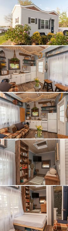The Tiny Lighthouse home from Tiny House Nation