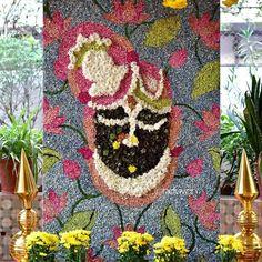 Diwali Decoration Lights, Diwali Decorations At Home, Wedding Stage Decorations, Backdrop Decorations, Flower Decorations, Engagement Stage Decoration, Indian Baby Showers, Housewarming Decorations, Wedding Mandap