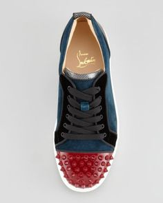 louboutin men trainers
