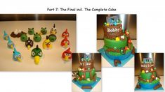 Part-7-The-Final-Incl.-The-Complete-Angry-Bird-Cake How to make angry birds