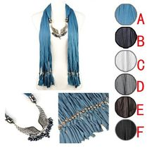 Stylish Angel Wing Charms Jewelry Scarf Wholesale many colors available on www.jewelryscarfcanada.com