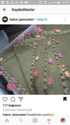 Moda Emo, Handmade Design, Baby Knitting Patterns, Boutique, Alexander Mcqueen Scarf, Tatting, Embroidery, Instagram, Crafts