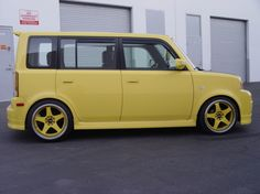This one even has YELLOW hub caps!  #dreamcar unic91's 2005 Scion xB