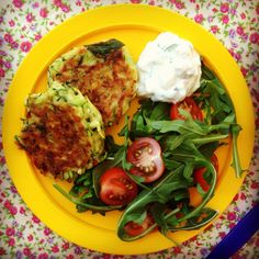 zucchini fritters- baby lead weaning