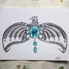 Wit beyond measure is man's greatest treasure - Ravenclaw's Diadem #art #artist #artofvisuals #artwork #work #artoftheday #drawing #painting #illustration #paint #sketch #sketchbook #ravenclaw #pencil #diadem #colorful #plant #nature #artsy #harrypotter #love #passion #artistic_dome #ink #tattoo #blackandwhite #drawing2me #young_artists_help #arts_help