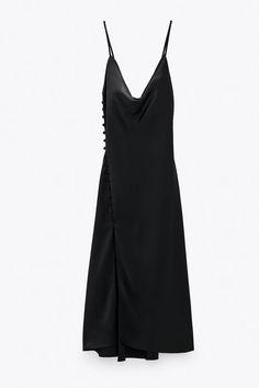 Lbd, Zara Black Dress, Vestidos Zara, Denim, Mixtape, Dresses, Fashion, Shopping, Print Jeans