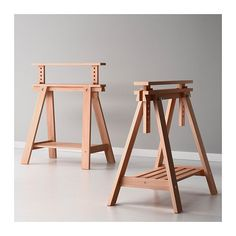 How to build adjustable wood sawhorses, plans included