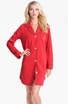 a73228897 Lauren Ralph Lauren Sleepwear Knit Nightshirt available at  Nordstrom   59.00 Pajamas Women