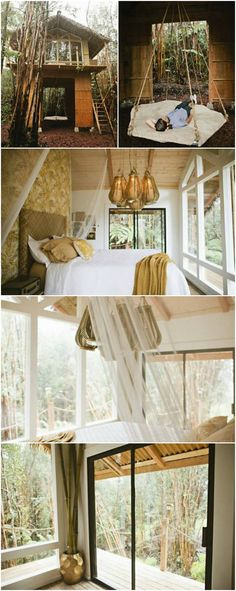 This Tiny Vacation Home in Hawaii Is Like a Whimsical Tree House - Kristie Wolfe is an Idaho dressmaker with a creative spark and a sojourning soul. While she enjoys her work in Boise, she sometimes wants to get away from those cold, snowy winters and spend some time in warm, tropical climes—and that is what inspired her to build her own tiny vacation home in Hawaii for just $11,000.